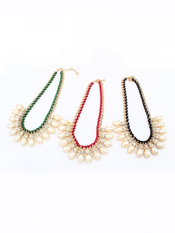 The Most Fashionable Occident Exquisite Water drop Hot Sale Necklace