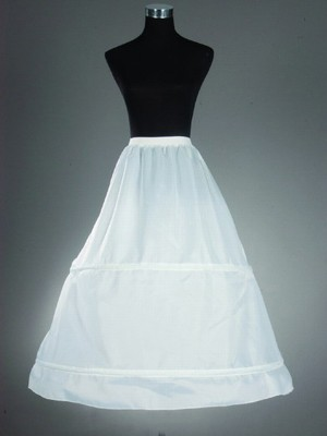 A-Line 1 Tier Floor Length Slip Nylon Style Wedding Petticoats