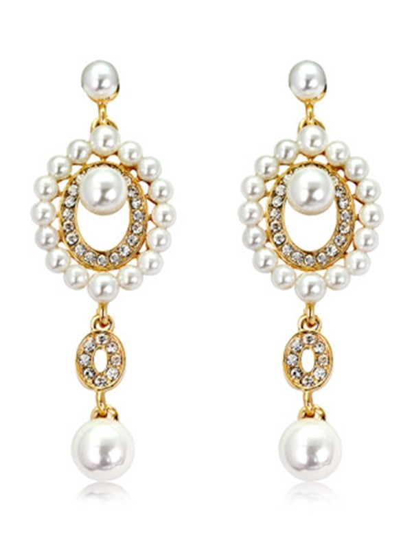 Unique Pearl Hot Sale Earrings For Ladies