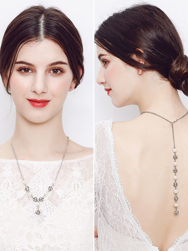 Graceful Pearl Wedding Bridal Hot Sale Necklaces