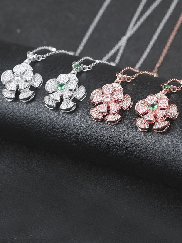 Gorgeous S925 Silver Women Hot Sale Necklaces