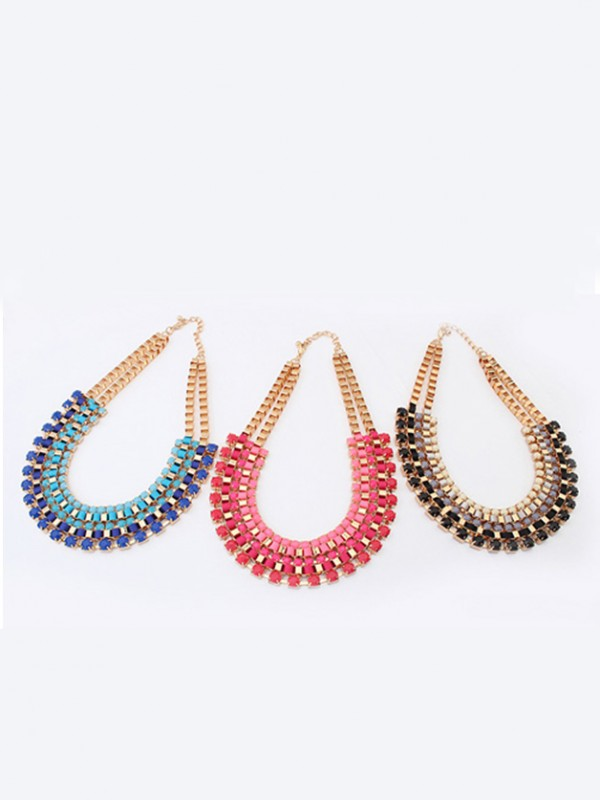 The Most Trendy Occident Retro multi-layered all-match Hot Sale Necklace
