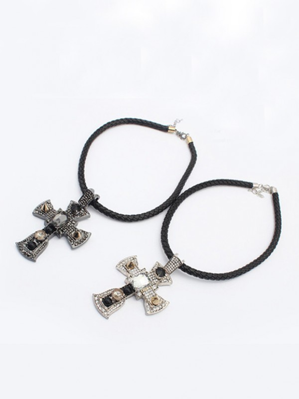 The Most Trendy Occident Punk Retro Cross Hot Sale Necklace