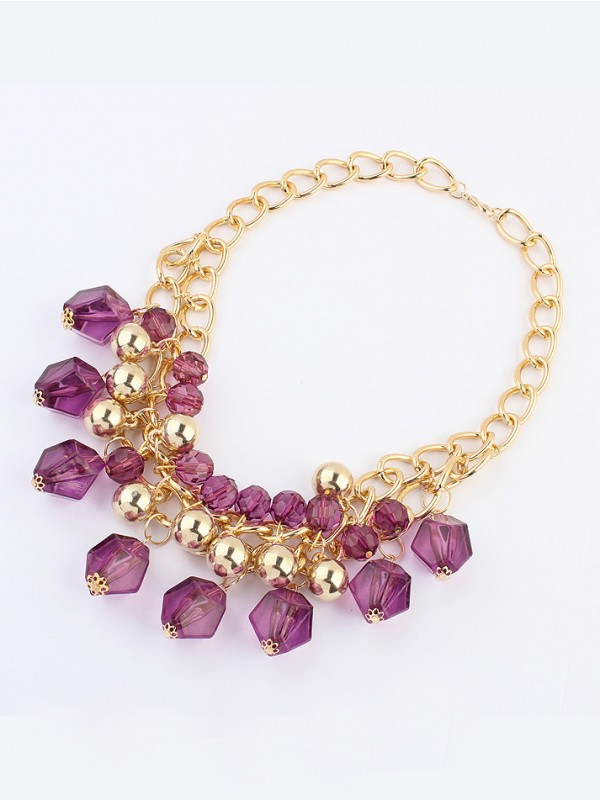 The Most Trendy Occident Bohemia Dimensional geometry Hot Sale Necklace