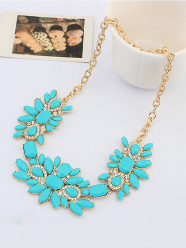 The Most Trendy Occident Sweet Fresh and all-match Hot Sale Necklace