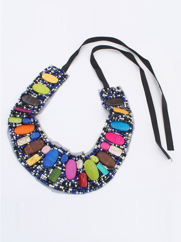 The Most Trendy Occident Bohemia Ethnic customs Hot Sale Necklace - A