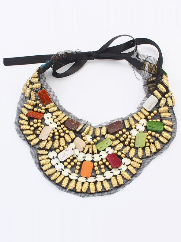Fashion Trends Occident Bohemia Ethnic customs Hot Sale Necklace - D