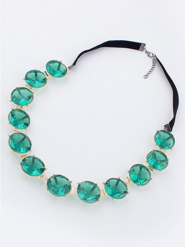 Fashion Trends Emerald Hot Sale Necklace