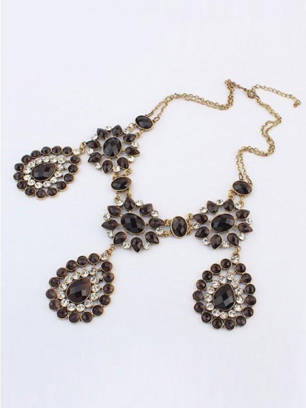 Fashion Trends Occident Bohemia Retro Water Drop Hot Sale Necklace