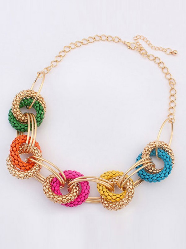 The Most Stylish Occident Hyperbolic Retro Exotic Geometry Hot Sale Necklace
