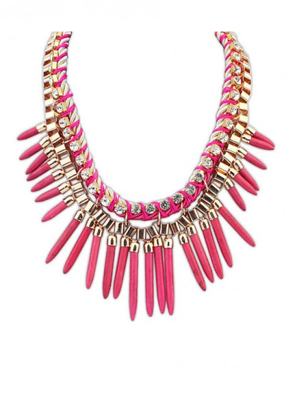 The Most Stylish Occident Hyperbolic Personality Punk Street shooting Hot Sale Necklace