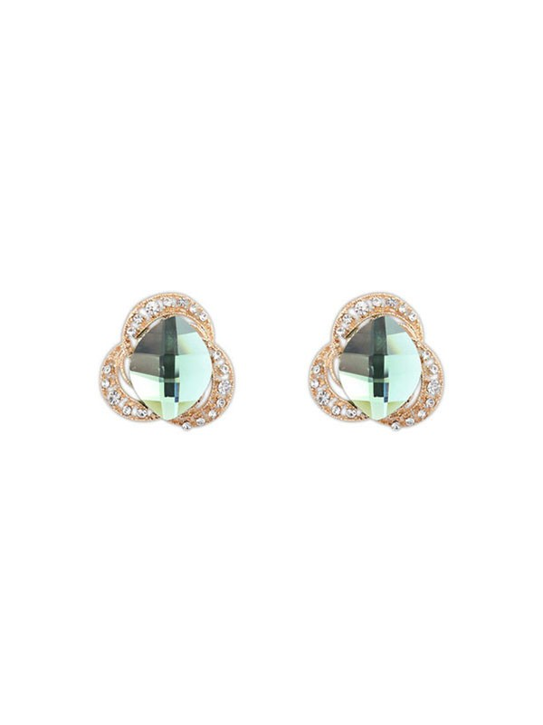 The Most Fashionable Occident Three Flowers Bohemia Customs Stud Hot Sale Earrings