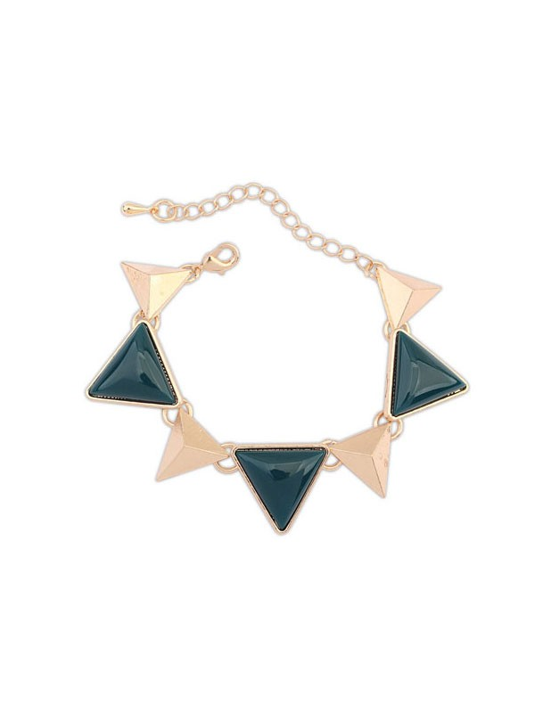 The Most Fashionable Occident Retro Punk Geometry Triangle Hot Sale Bracelets