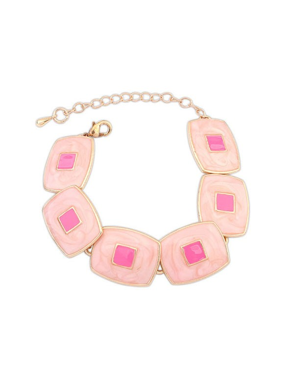 The Most Trendy Occident Elegant Blocks Temperament Hot Sale Bracelets