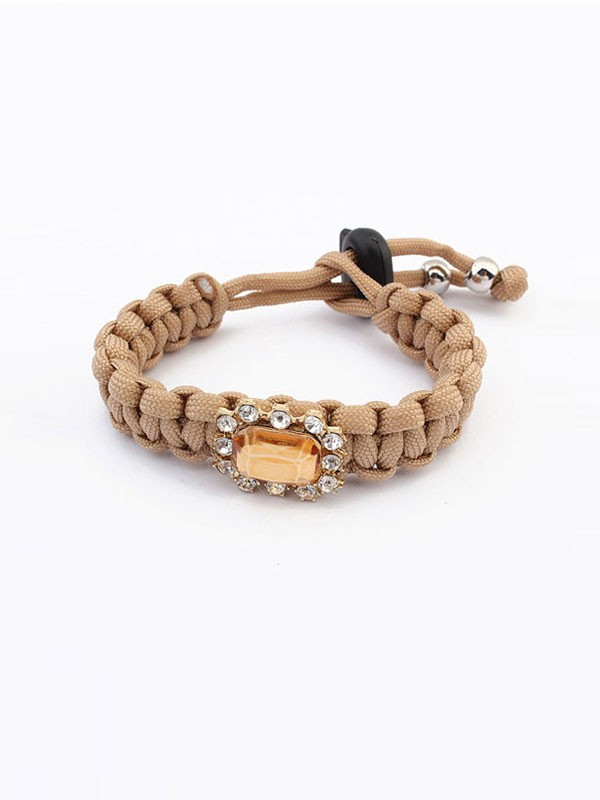 Fashion Trends Occident All-match Woven Concise Hot Sale Bracelets