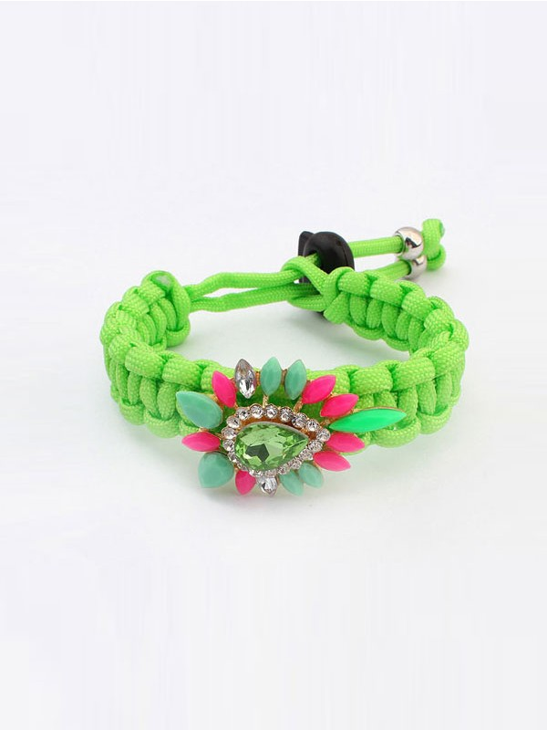 Fashion Trends Occident Ethnic Customs Woven Colorful Hot Sale Bracelets