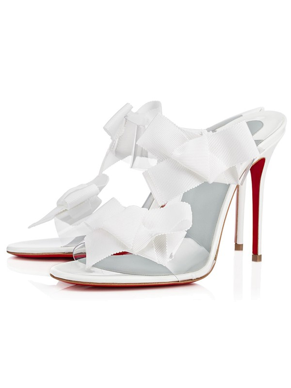 Fashion Trends Women's Peep Toe Satin Stiletto Heel With Flower Sandals Shoes