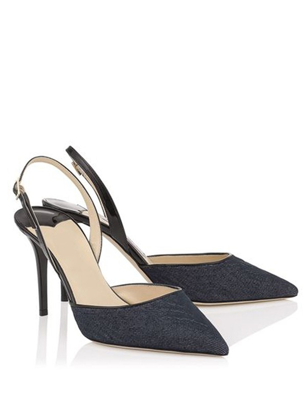 The Most Trendy Women's Stiletto Heel Closed Toe With Buckle Sandals Shoes
